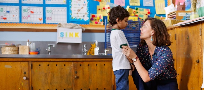 'The Kindergarten Teacher', de la estadounidense Sara Colangelo.