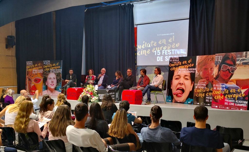 Presentación de Cinéfilos del futuro y Europa Junior