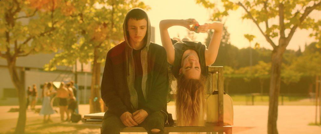 Iván Pellicer y Clare Durant,, en una escena de 'Ánimas'.