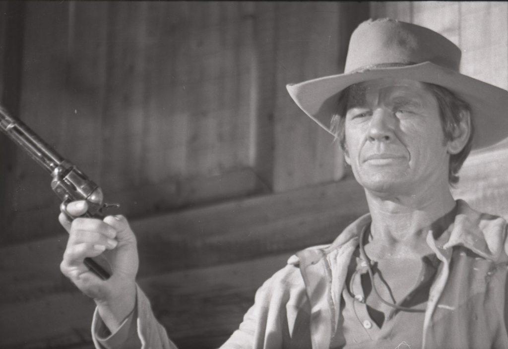 Charles Bronson, un actor que expresaba más con la mirada que con la voz.