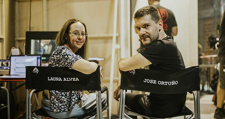 Laura Alvea y José Ortuño