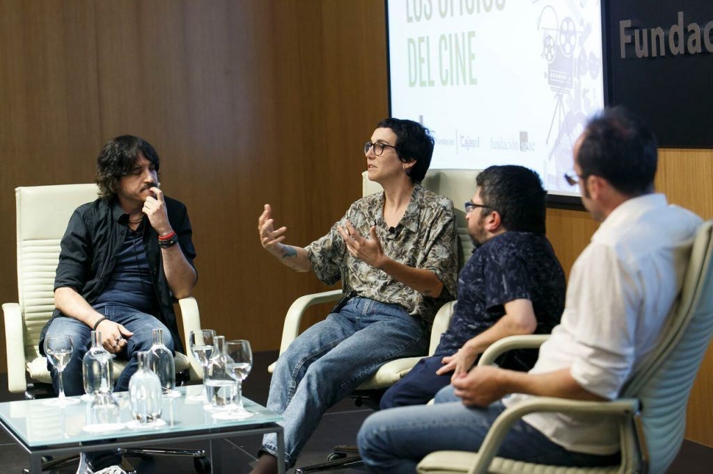 Paloma Peñarubia explica su proceso de trabajo para componer una banda sonora.