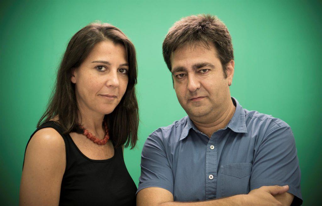 Pilar Crespo y Jesús Ponce, productora y director de 'La última toma'.