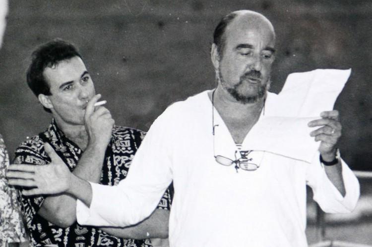 El escritor Fernando Quiñones, impulsor del Festival Alcances.