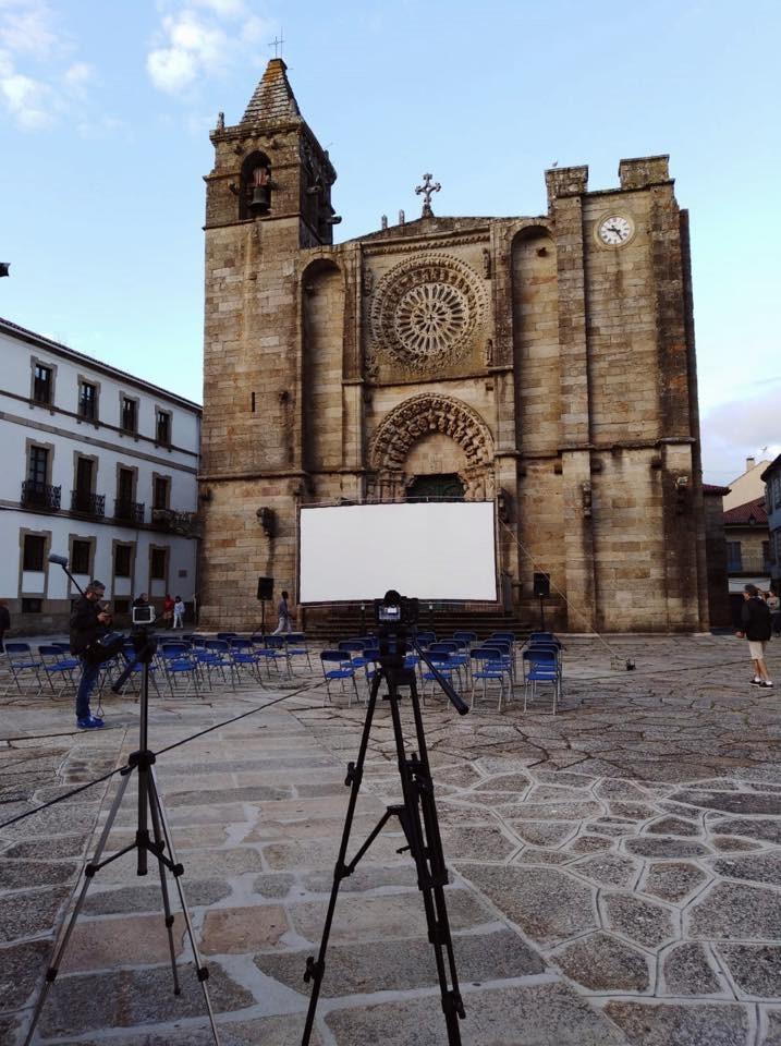 Noia, lugar en el que murió Claudio Guerín mientras rodaba 'La campana del diablo'.