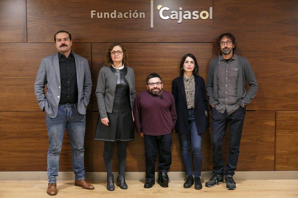Alfonso Sánchez, María Rodriguez, Juan Antonio Bermúdez, Celia Rico Clavellino y Paco Baños.