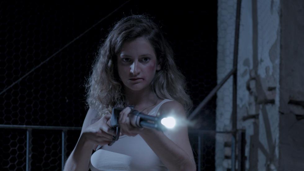 Marta Costa en una escena de 'El secadero' de Antonio Donaire.
