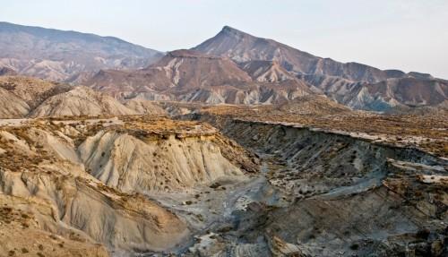 Panorámica del desierto del Tabernas.