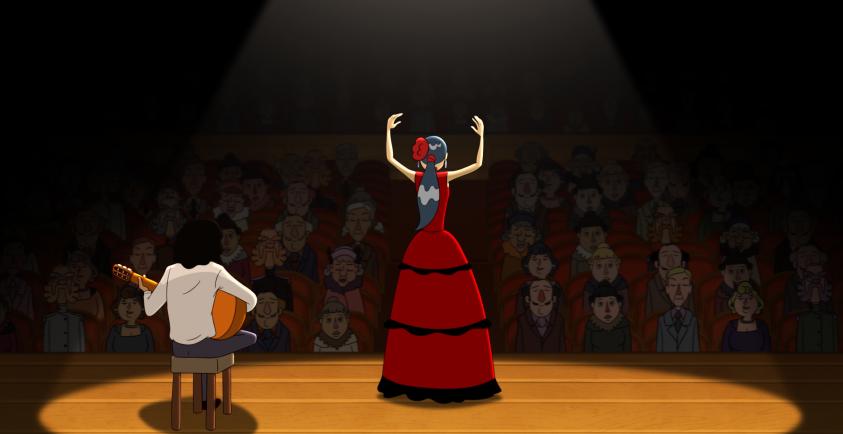 Sofía, la bailaora de Cazatalentos.