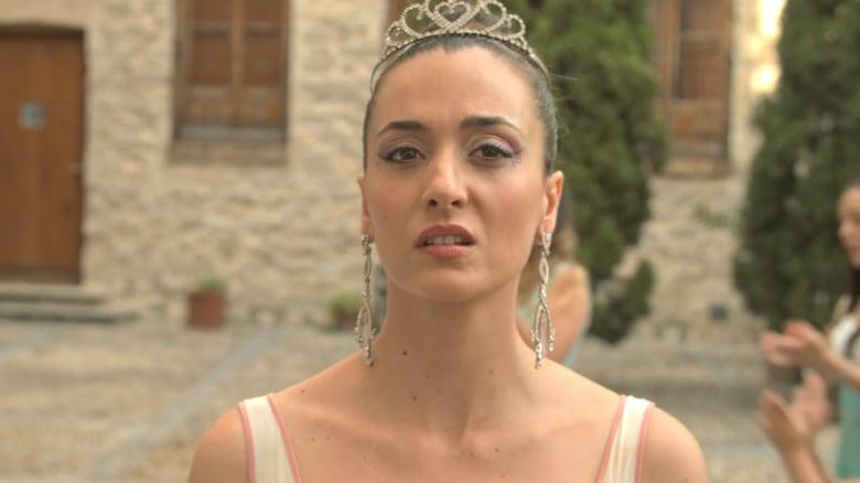 La actriz Carmen Cabrera en 'El miramiento'.