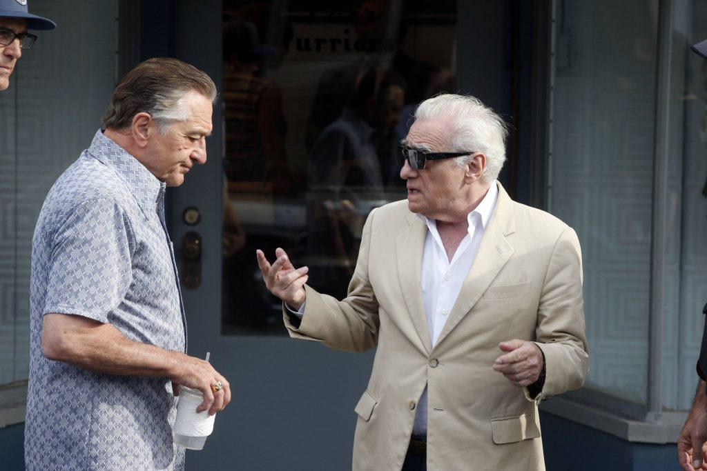 Escena de 'The Irishman', de Martin Scorsese.
