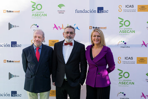 Fundación SGAE durante la gala de los Premios Asecan 2018.