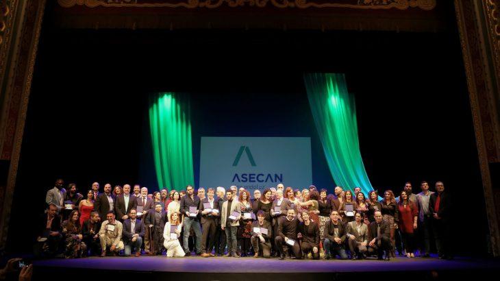 Gala de entrega de premios Asecan del cine andaluz