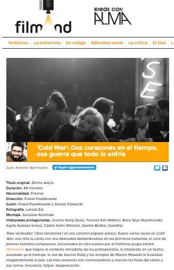 Una de las críticas de Juan Antonio Bermúdez en FilmAnd