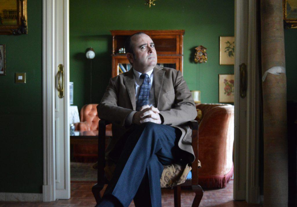 Carlos Areces en en el escenario de 'El incoveniente'. Foto: Alejandro Ávila