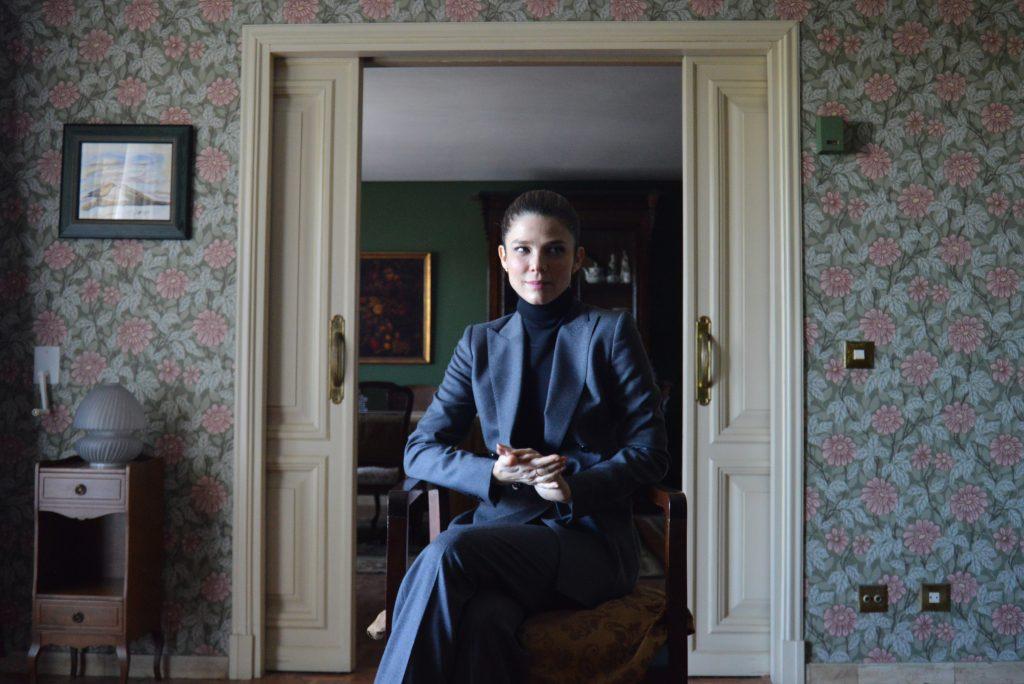 La actriz Juana Acosta, protagonista de 'El incoveniente'. Foto: Alejandro Ávila.