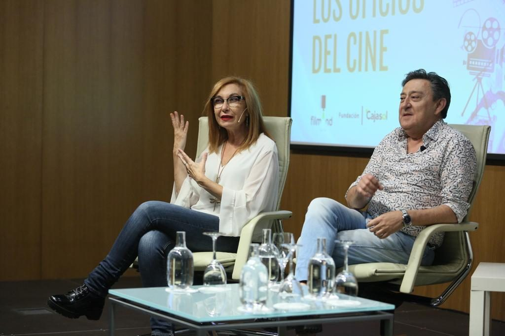 Mercedes Hoyos y Mariano Peña.