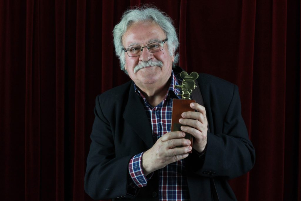 Manuel Gómez, programador de La Cineteca de Sevilla recibió el premio ASFAAN.