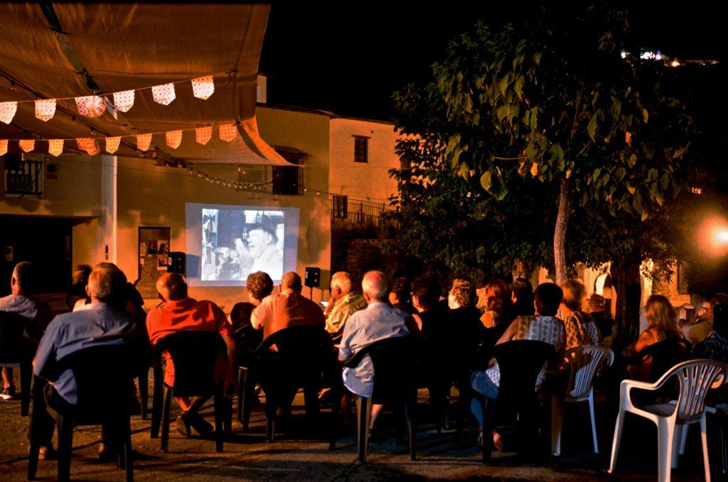 Encuentro de Cine Itinerante en Ferreirola.