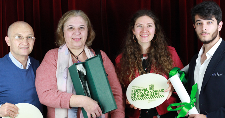 Rocio Morato Primer Premio Festival de Cine Andaluz de Burguillos