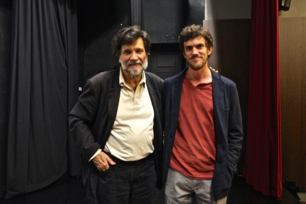 Víctor Erice y Raúl M. Osorio.