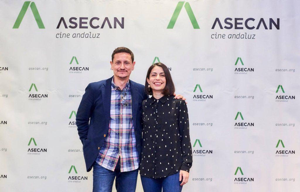José Alba y Celia Rico, productor y directora de 'Viaje al cuarto de una madre'