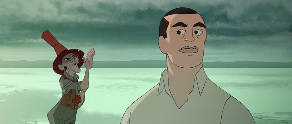 Una escena de 'Buñuel en el laberinto de las Tortugas'.