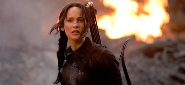 Katniss Everdeen, protagonista de 'Los juegos del hambre'.