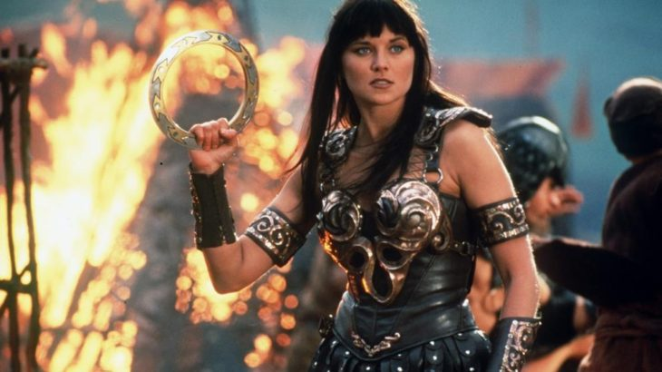 Xena, la princesa guerrera.