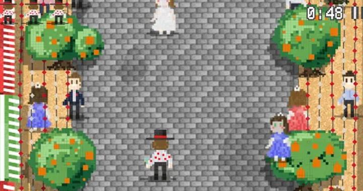 Escena del videojuego 'Paco en la Feria'.
