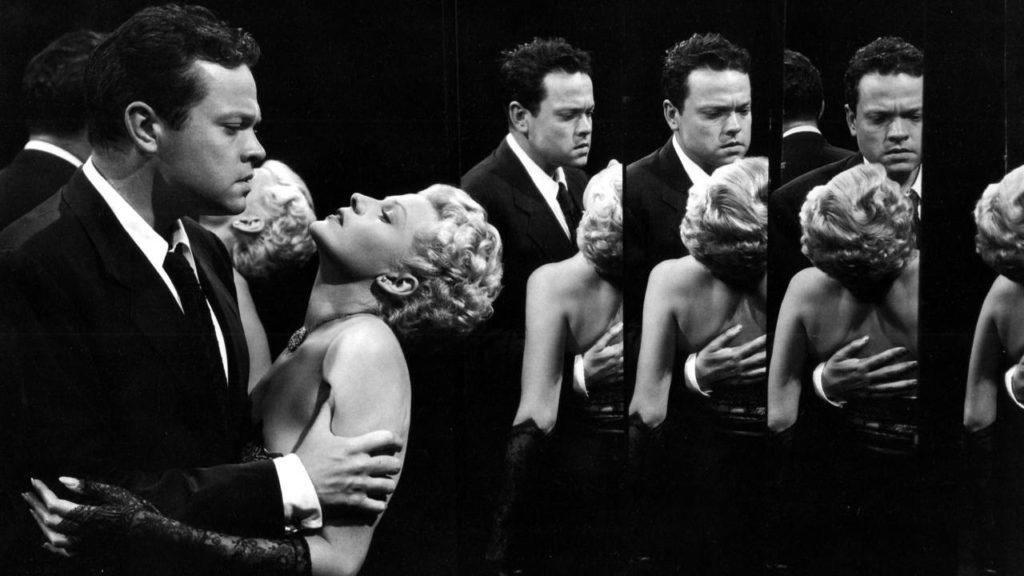 Orson Welles y Rita Hayworth en 'La dama de Shangai'