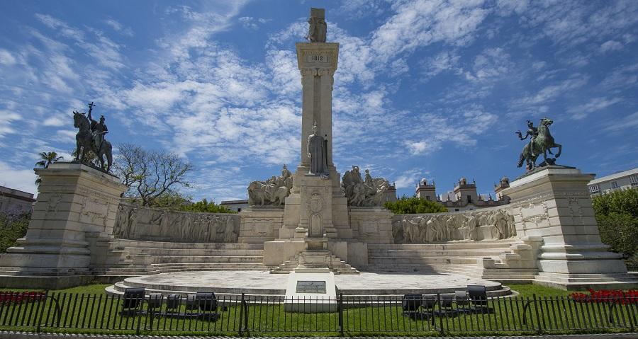 Monumento a las Cortes de Cádiz.