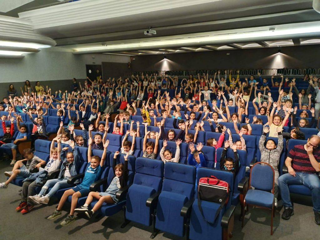 Un sesión para público infantil en la XVIII edición del Festival Biosegura.