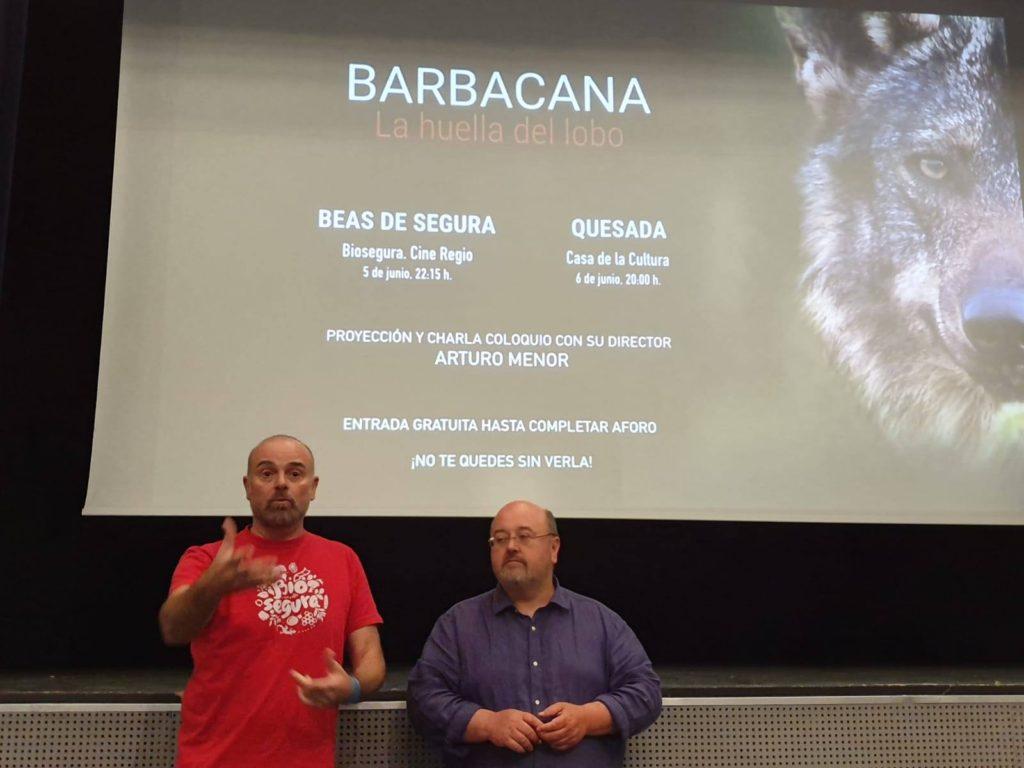Presentación en Biosegura del documental Barbacana.