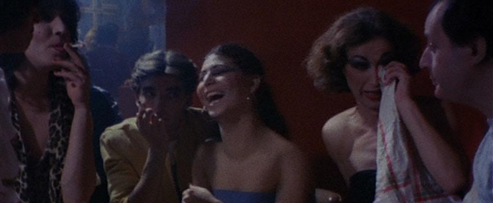 Escena del documental de 1983 'Vestidas de azul'.