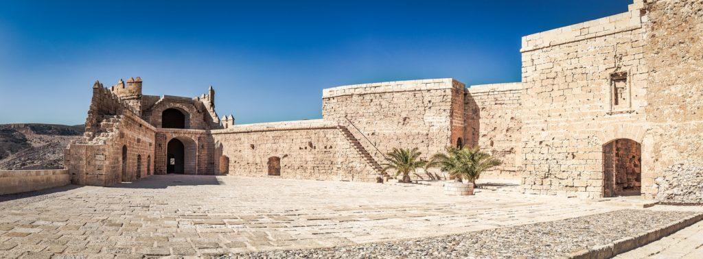 Una imagen de la Alcazaba de Almería.