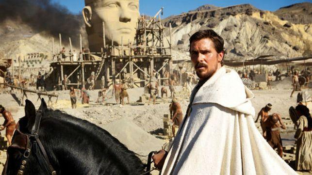 Escena de 'Exodus dioses y reyes', rodada en Almería.