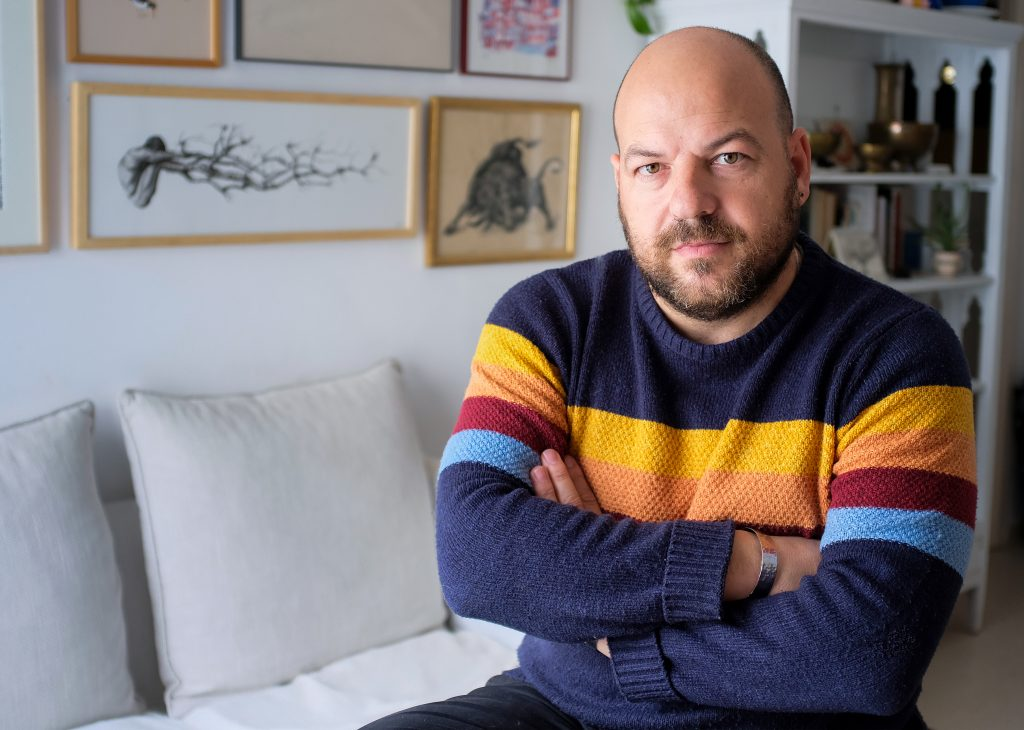Julio Vergne, foto-fija de referencia del cine andaluz. Autor: Julio Vergne.