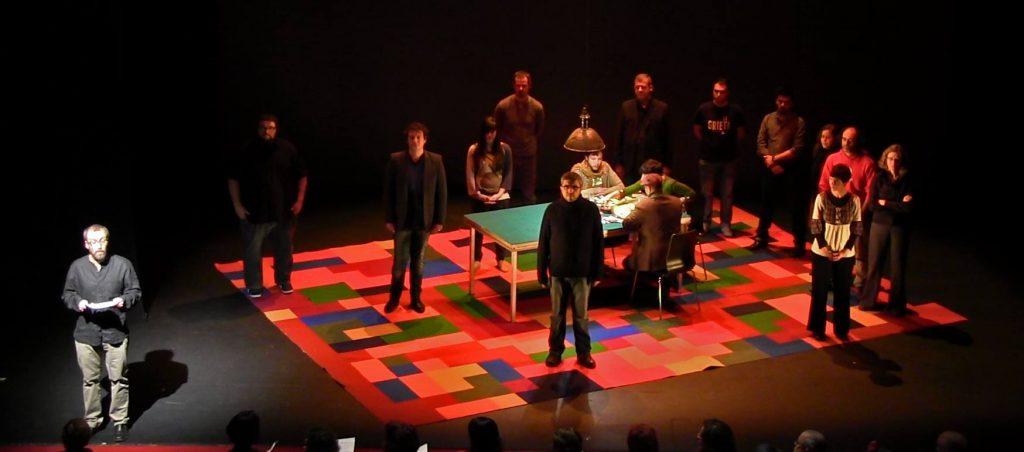 Set de grabación de la webserie 'La Grieta'