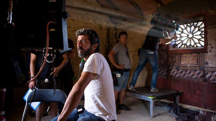 Fotografía del rodaje de 'La peste' de Julio Vergne.