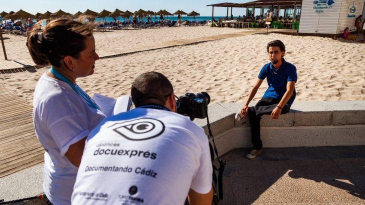 Participantes en el certamen de documentales rápidos del cincuenta Festival Alcances.