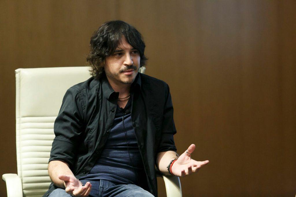 Jesús Caloderón durante Los oficios del cine.