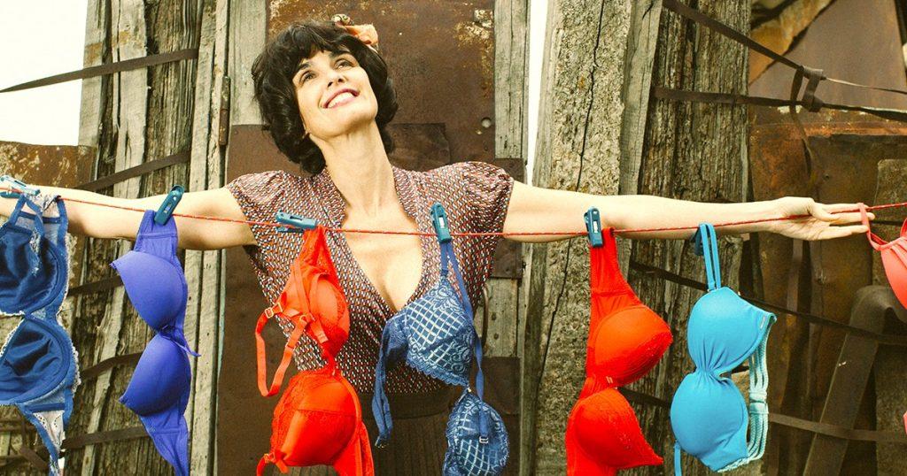 Una escena de la última película de Paz Vega, 'The bra'.