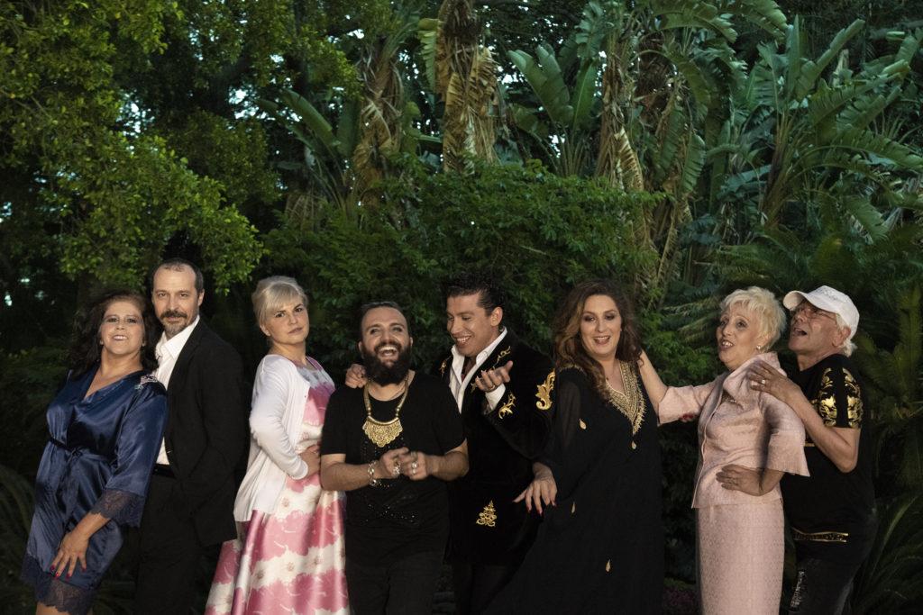 Laura Baena, Fele Martínez, Laura Vil, Rafatal, Antonio Cortés, Estrella Morente, Monti Casquel y Chencho Ortiz.