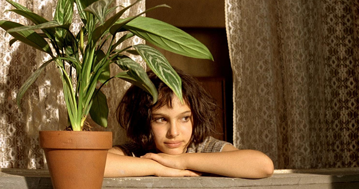 Natalie Portman en una esccena de 'León, el especialista'.