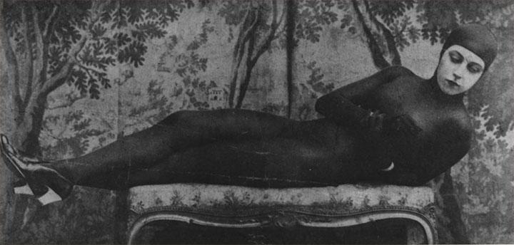Musidora caracterizada como Ira Vamp