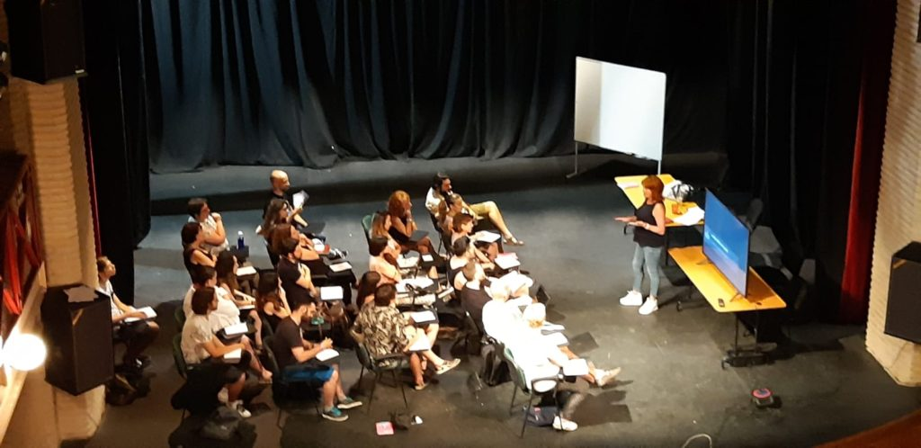 Una de las actividades de la pasada edición del Campus de Cine Miguel Picazo.